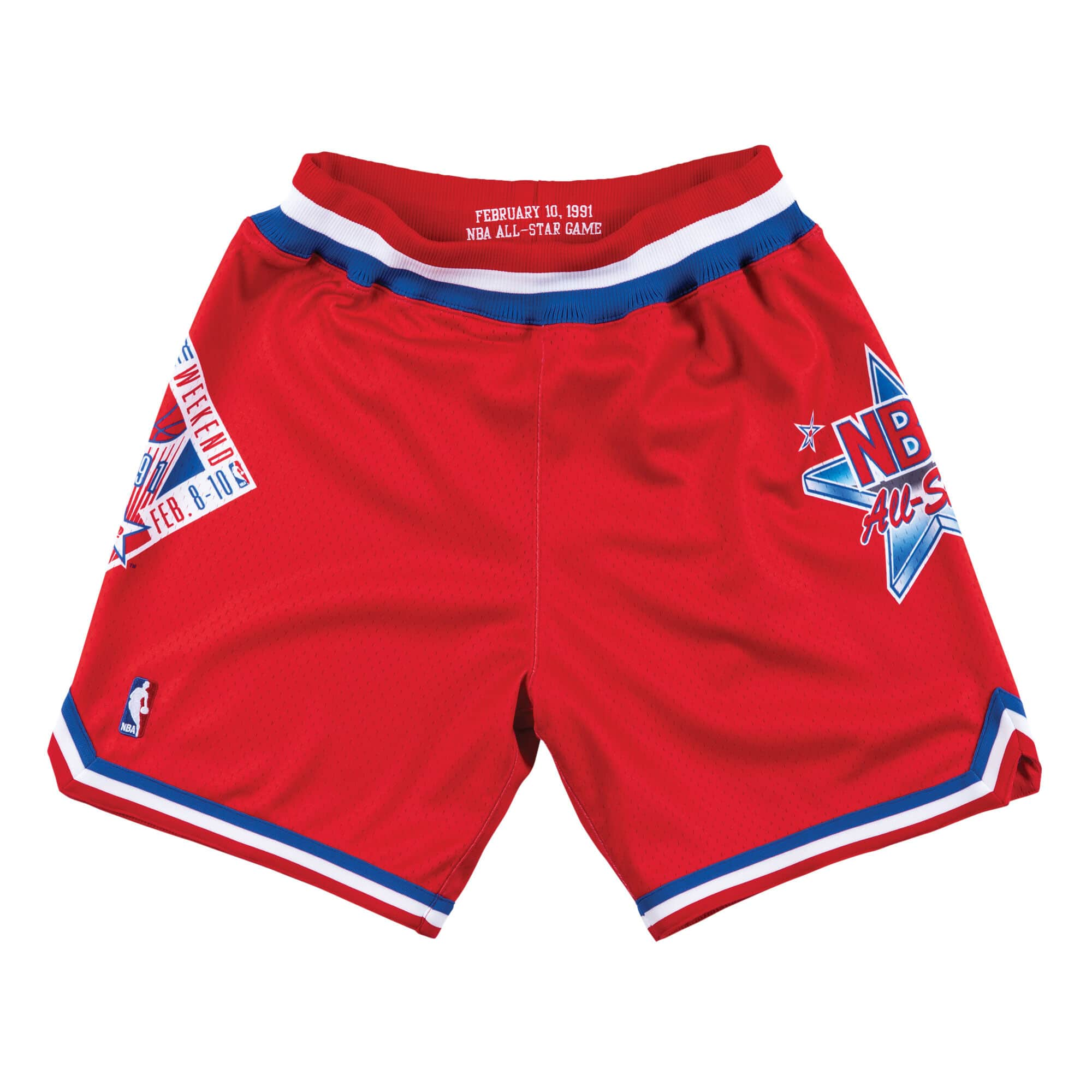 Authentic Shorts All-Star West 1991