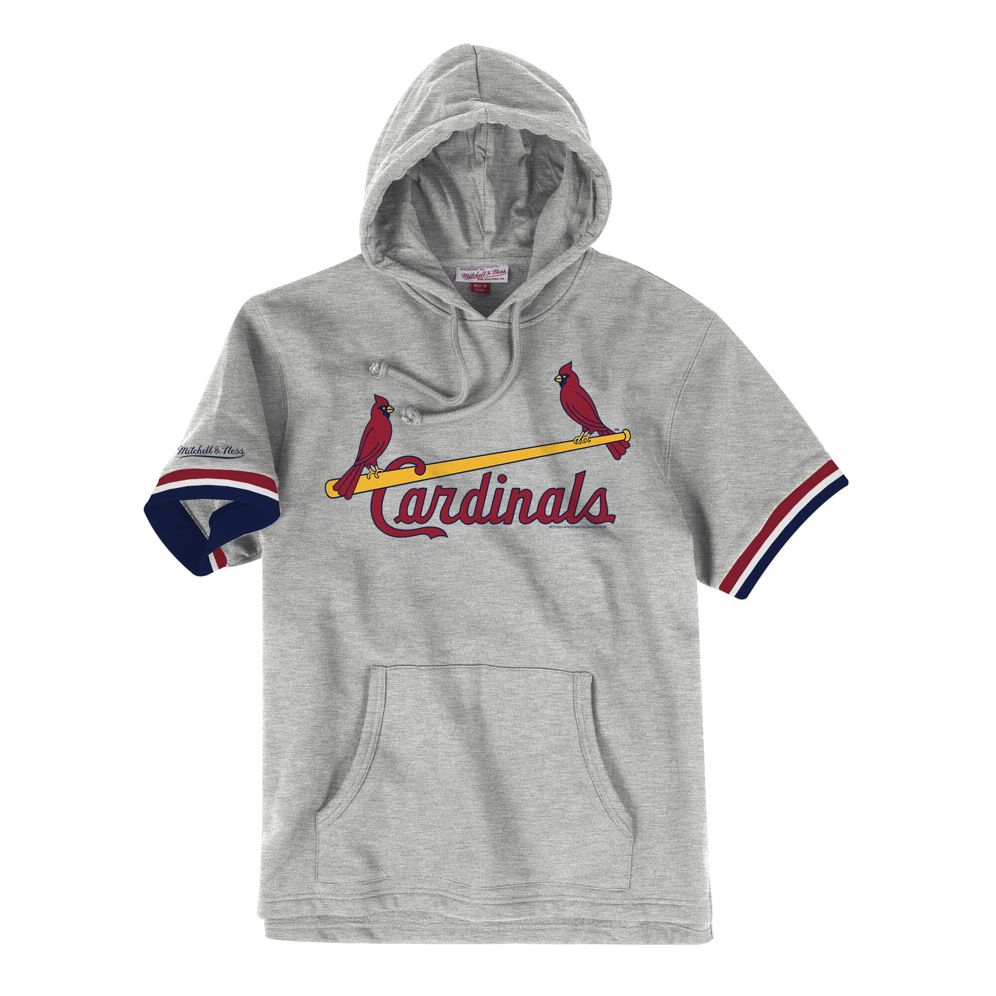 French Terry Short Sleeve Hoody St. Louis Cardinals