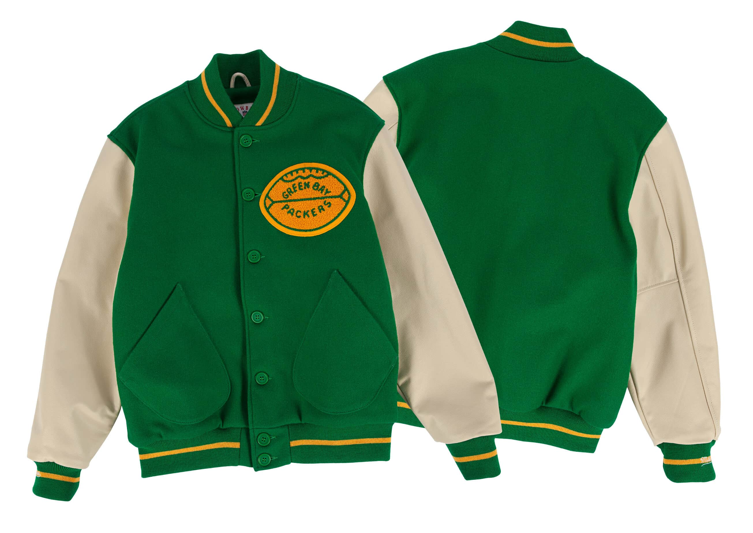 1965 Authentic Wool Jacket Green Bay Packers