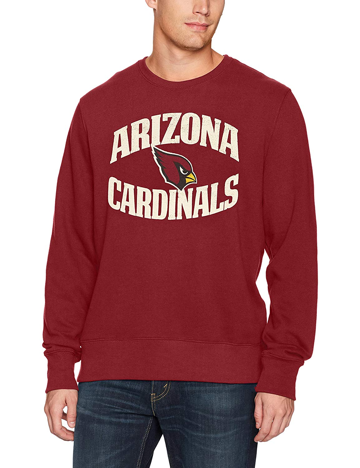 OTS NFL Adult Men's NFL Men's Fleece Crew